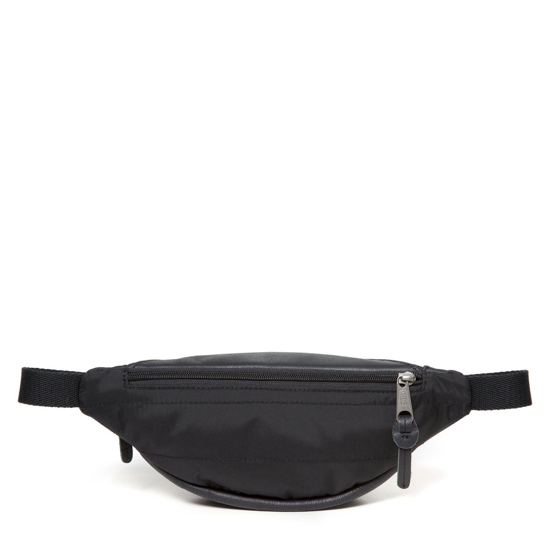 Eastpak  кожанная поясная сумка Springer Black Ink Leather