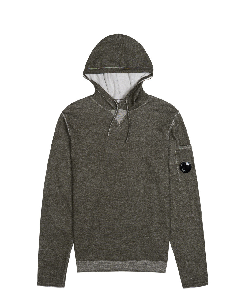 толстовка C.P.Company Knitted Sweat Hooded Sweat