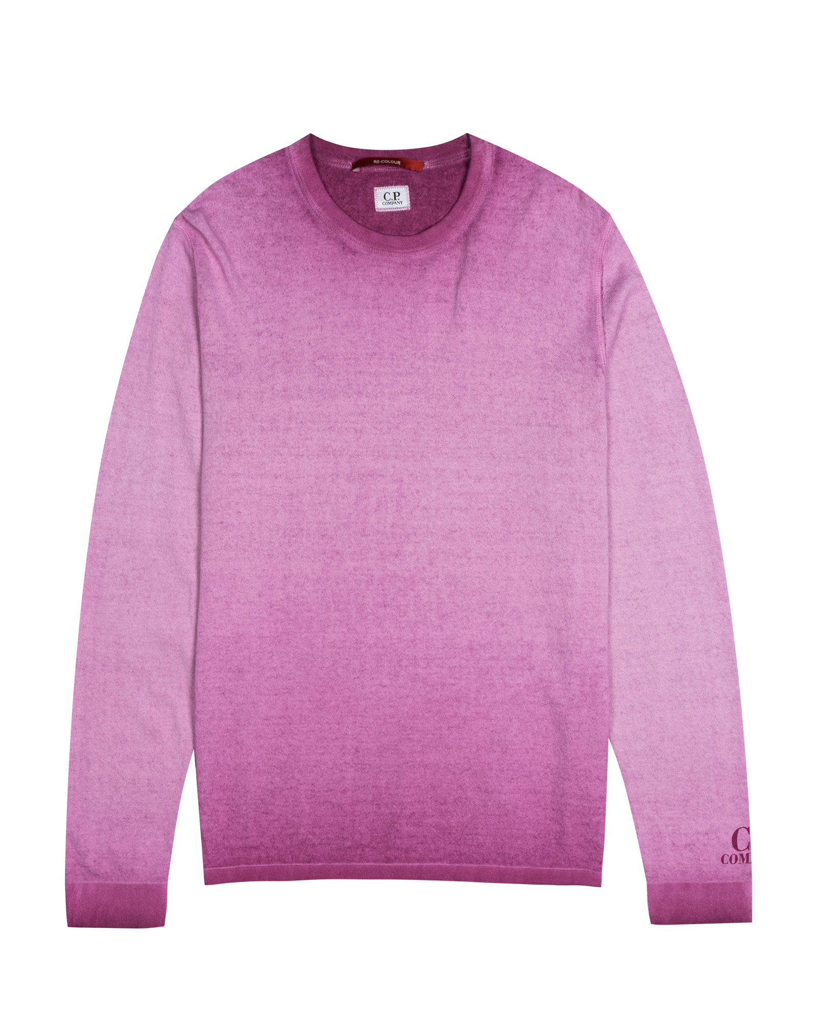 свитшот C.P.Company Hand Paint Sprayed Crewneck Sweater
