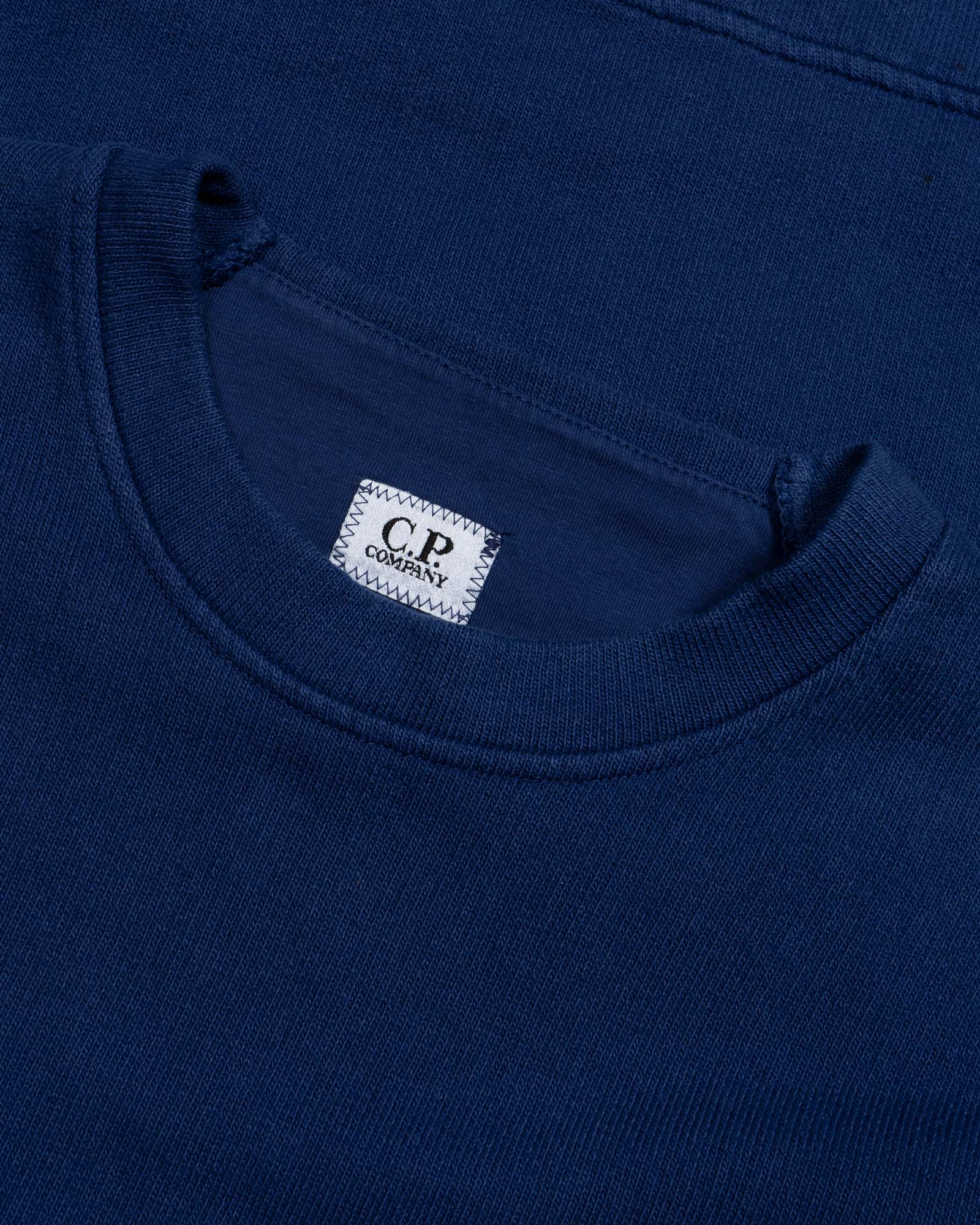 свитшот C.P.Company Terry Fleece  Crew Sweat