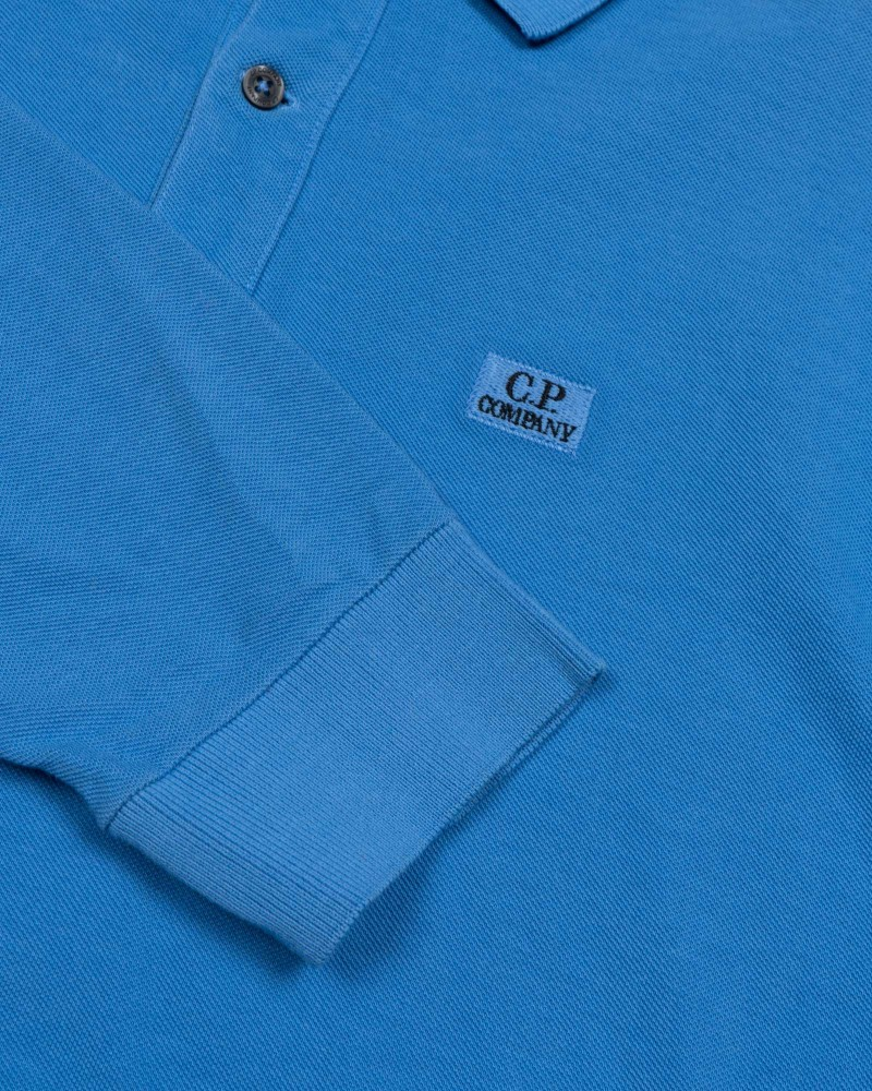 лонгслив C.P.Company GARMENT DYED 24/1 PIQUET LONG SLEEVE