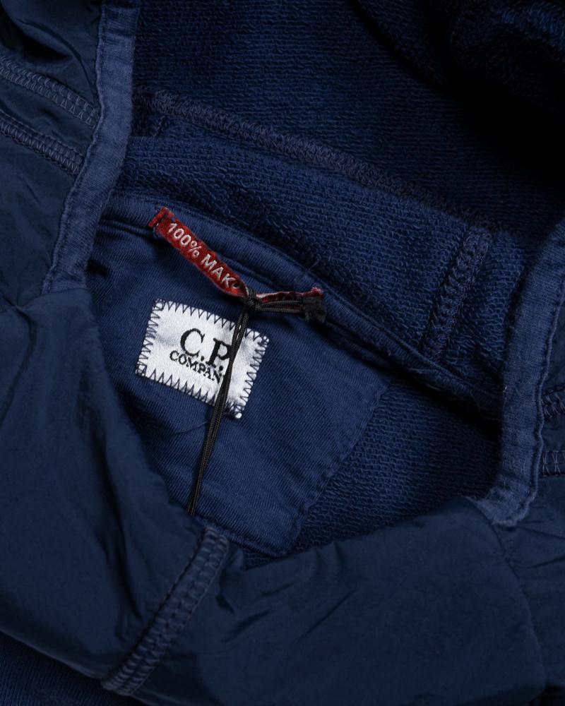 толстовка C.P.Company Cotton Fleece Goggle Hood Sweat