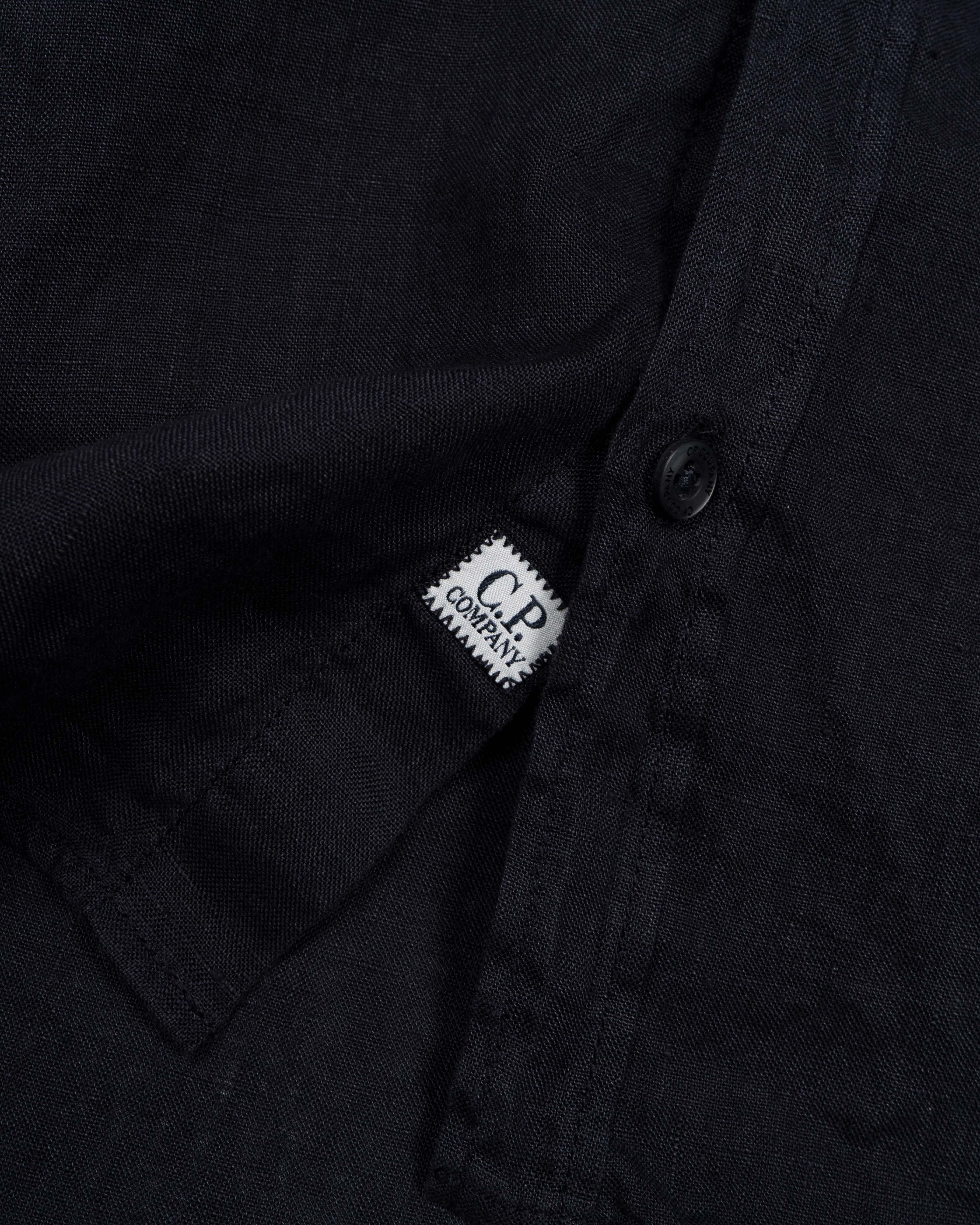 рубашка короткий рукав лён C.P.Company SHORT SLEEVE LINEN