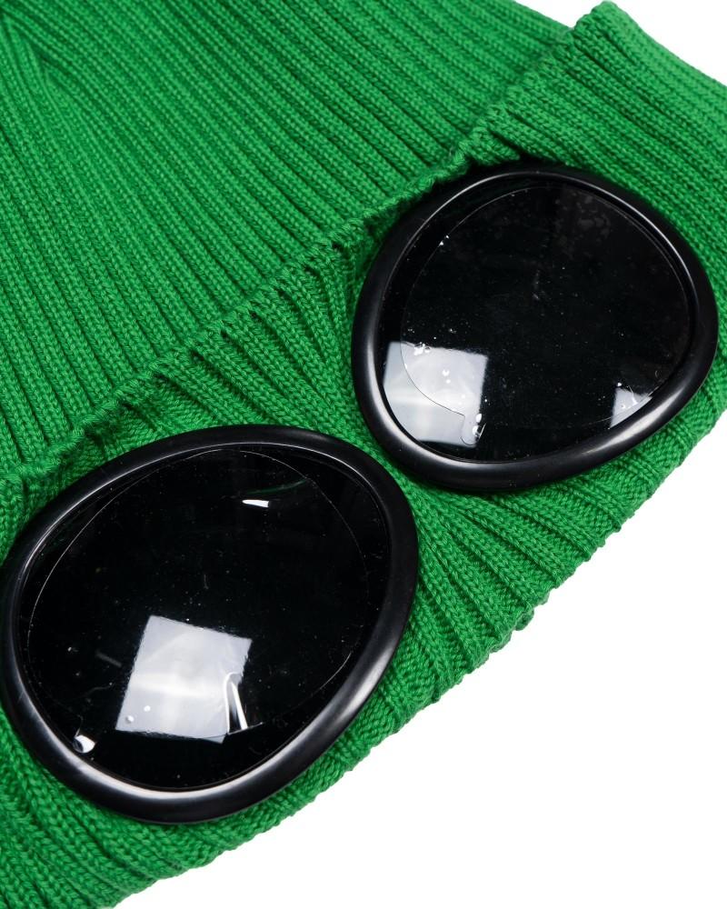шапка хлопок C.P.Company Cotton Goggle Beanie
