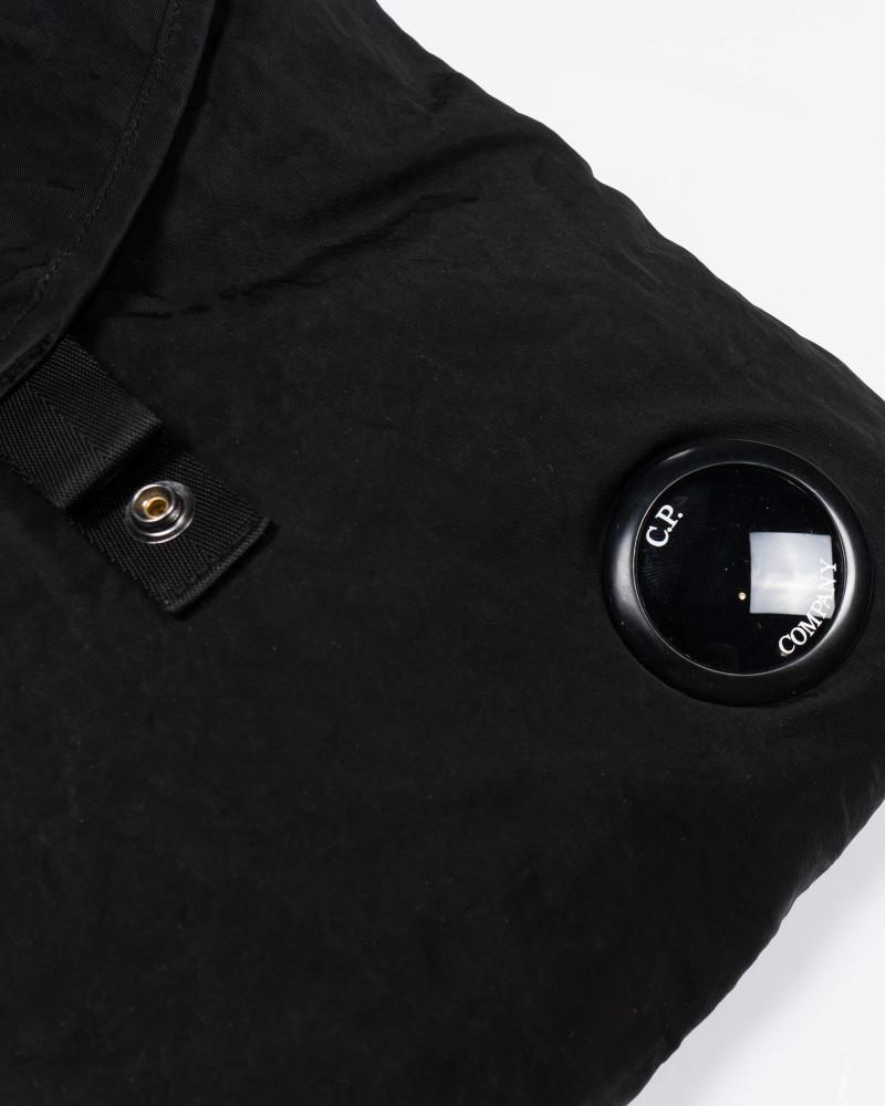 сумка C.P.Company Garment Dyed Nylon Sateen Shoulder Bag