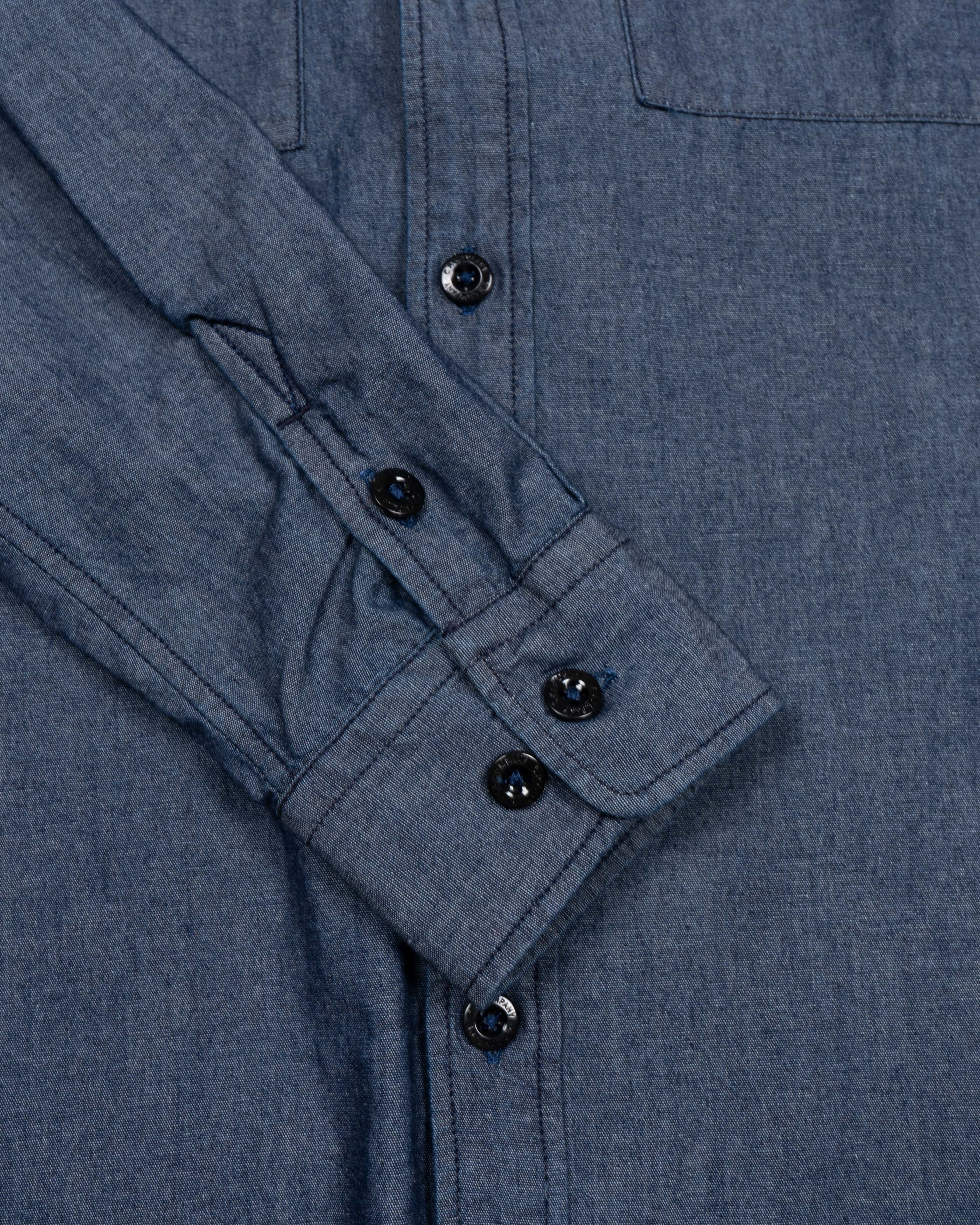 рубашка C.P.Company  Chambray Button-up ShirtNormal Washed Denim