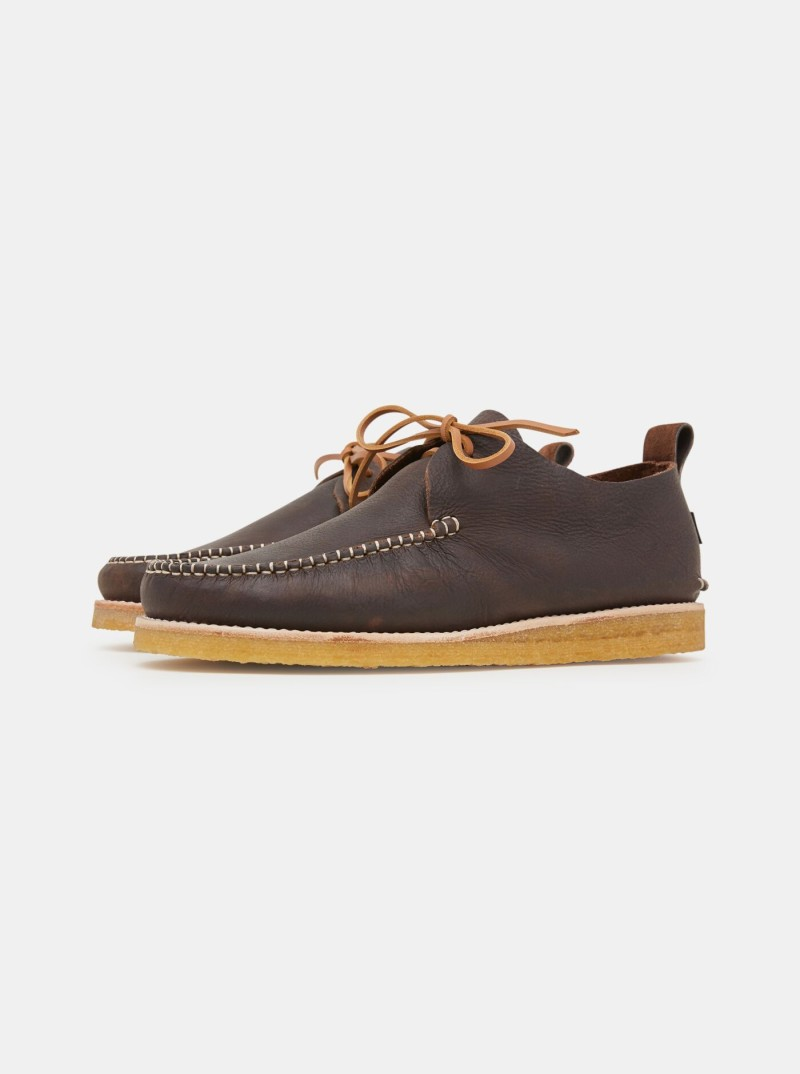 Ботинки Yogi Lawson Tumbled Leather Moccasin Chocolate