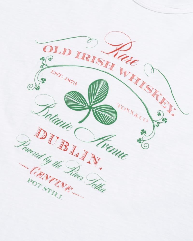 футболка Tonn Dublin Whiskey white