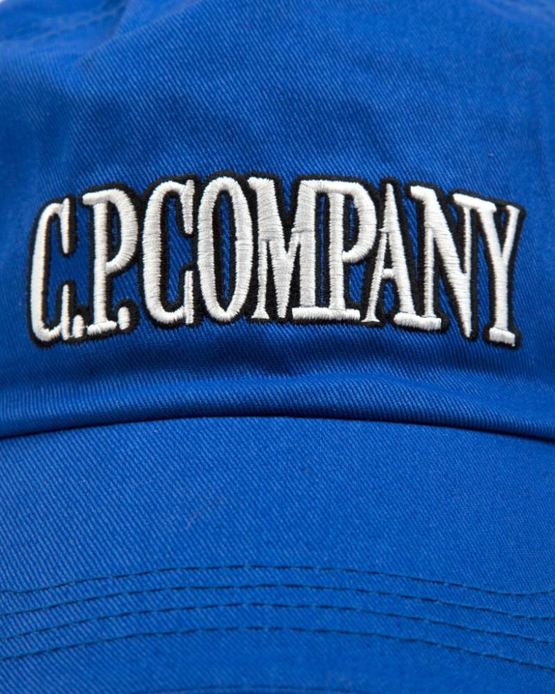 кепка C.P. COMPANY Logo Baseball Cap