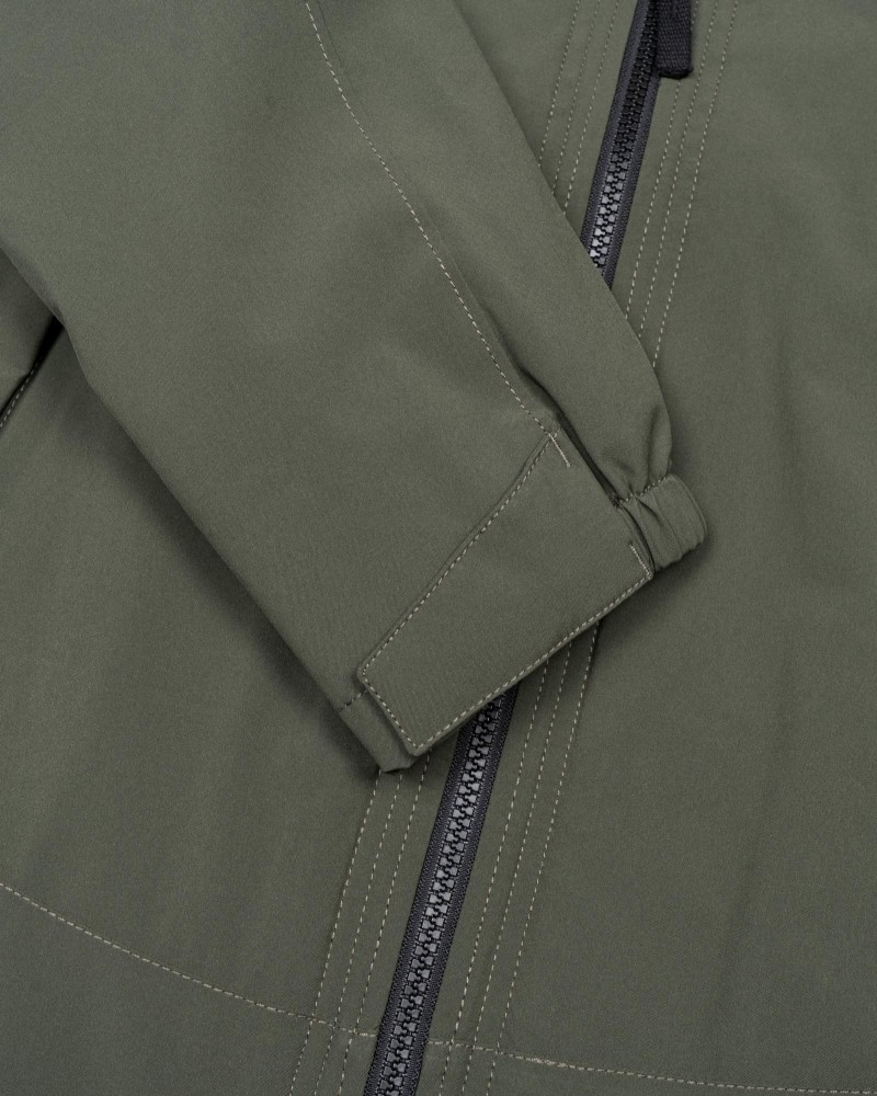 Куртка Stone Island SOFT SHELL-R WITH PRIMALOFT®