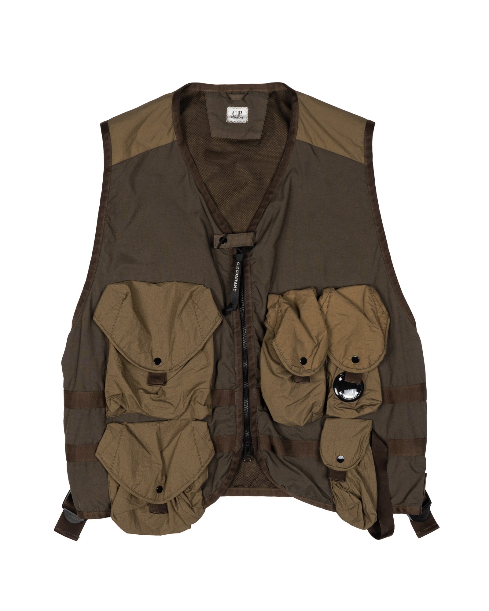 Мужской жилет C.P.Company Taylon P Mixed Urban Protection Series Utility Vest