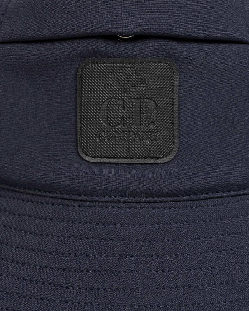 Панама C.P.Company C.P. Shell Logo Badge Bucket Hat