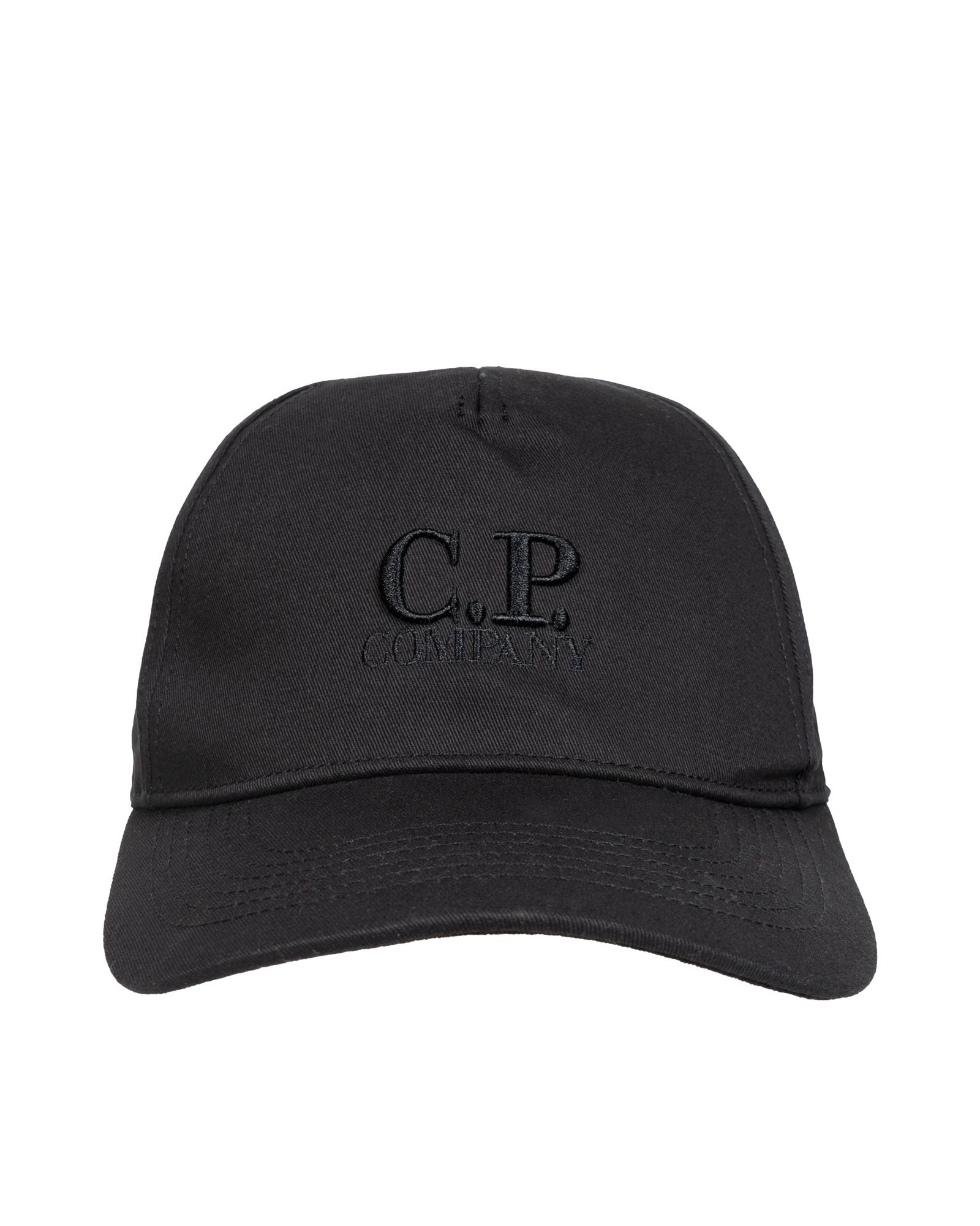 Кепка C.P.Company Gabardine Embroidered Logo Cap
