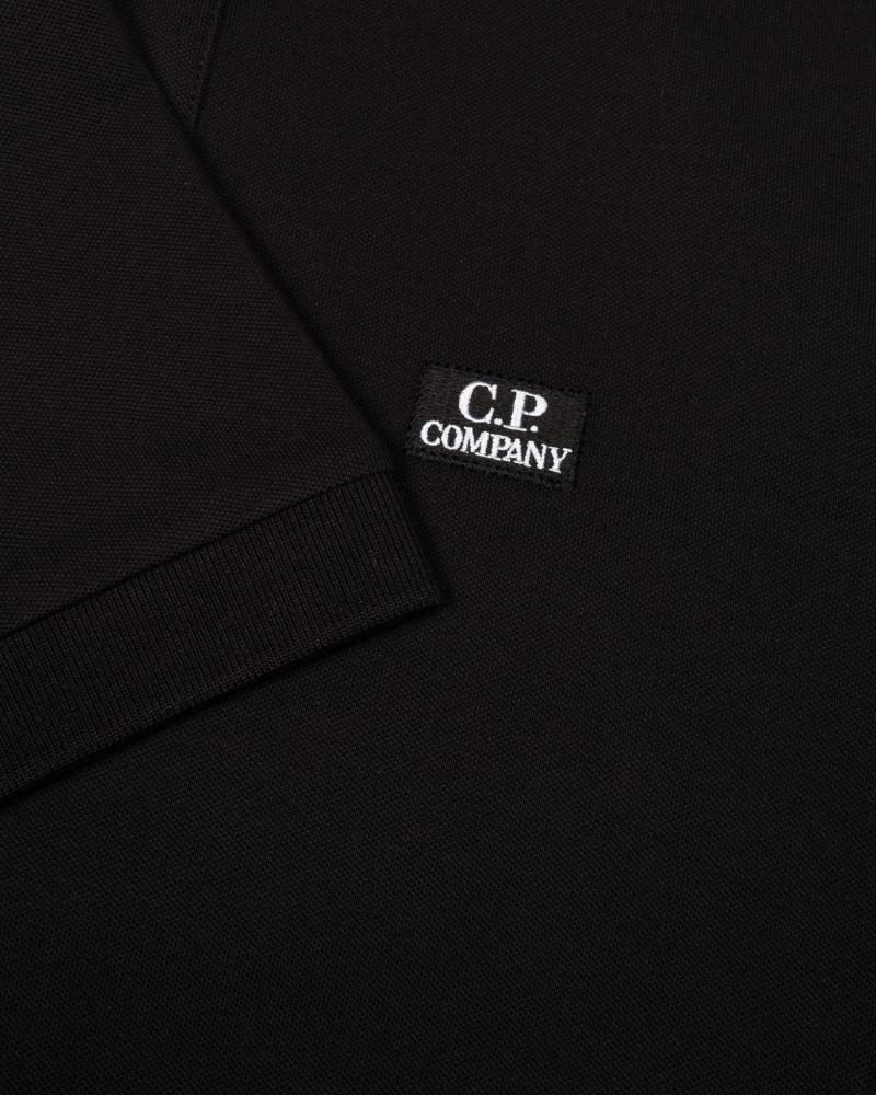 Мужское поло C.P.Company Stretch Pique Logo Polo
