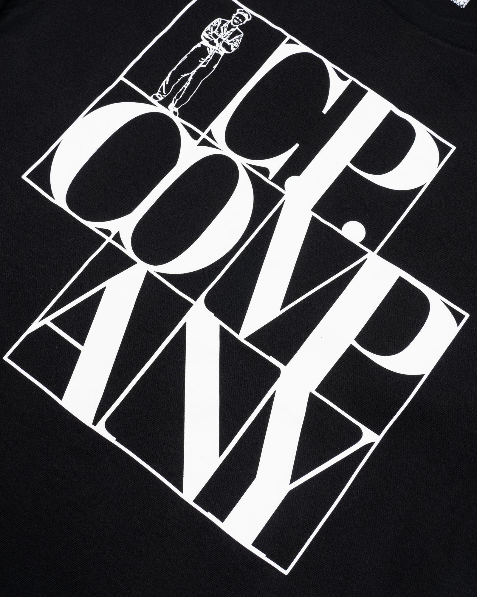 Мужская футболка C.P.Company Jersey Lettering Logo T-Shirt