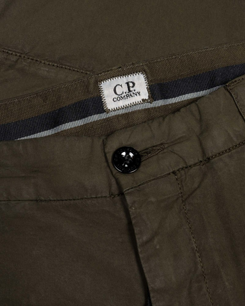 Мужские брюки C.P.Company Stretch Sateen Garment Dyed  Pants
