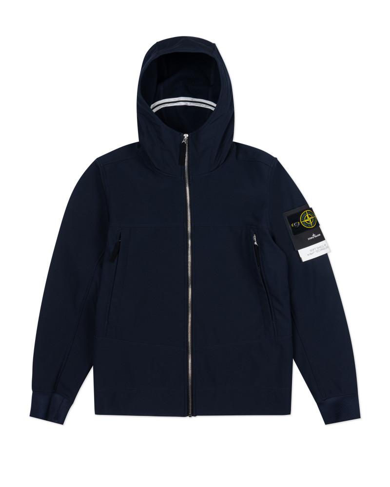 Мужская куртка Stone Island SOFT SHELL-R_E.DYE®